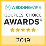 WeddingWire Couples Choice Award 2018